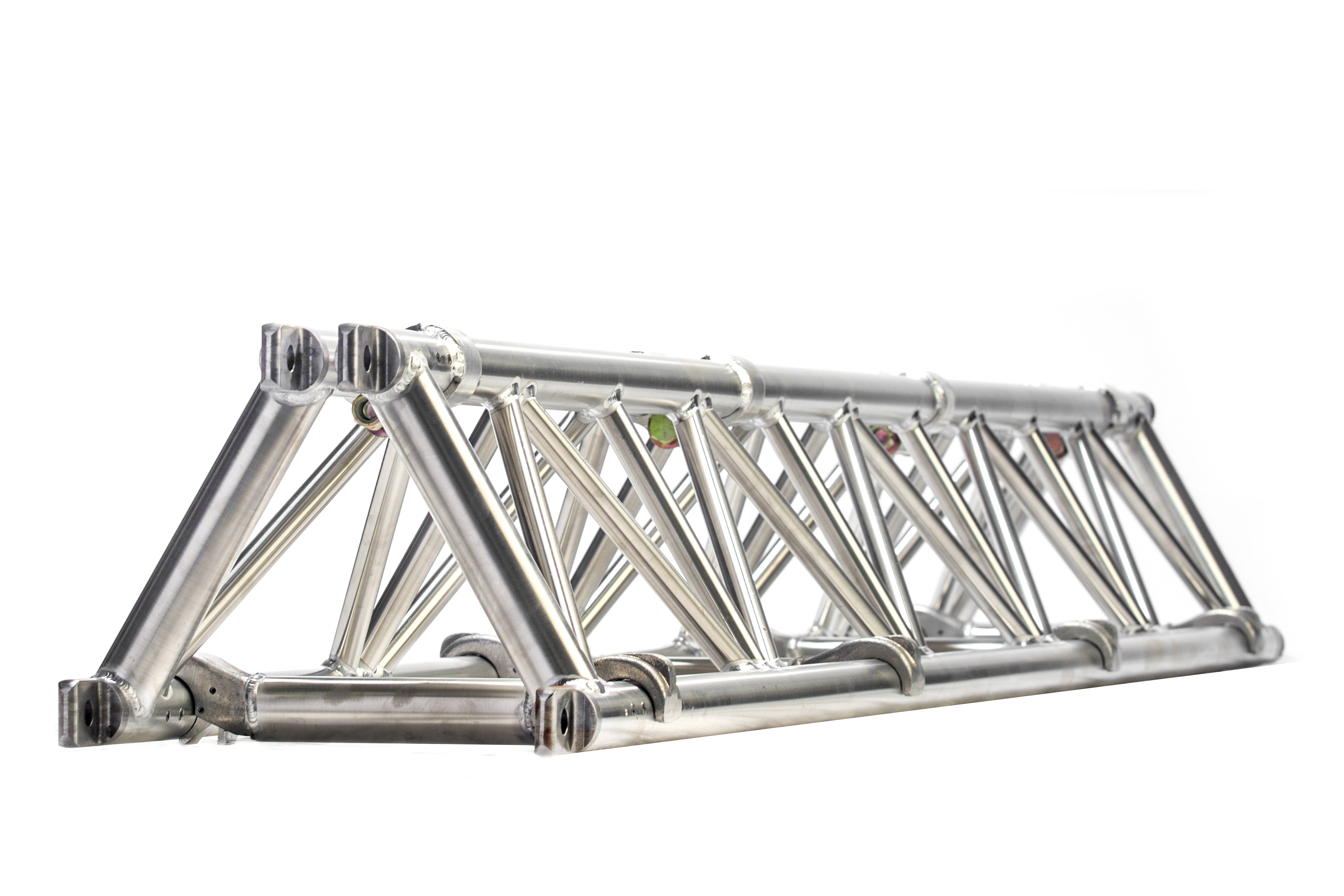 Folding triangle truss 14 spigoted
