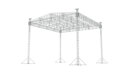 40X40 LADDER ROOF