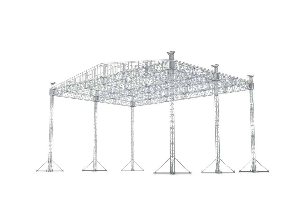 65 x 45 LADDER ROOF