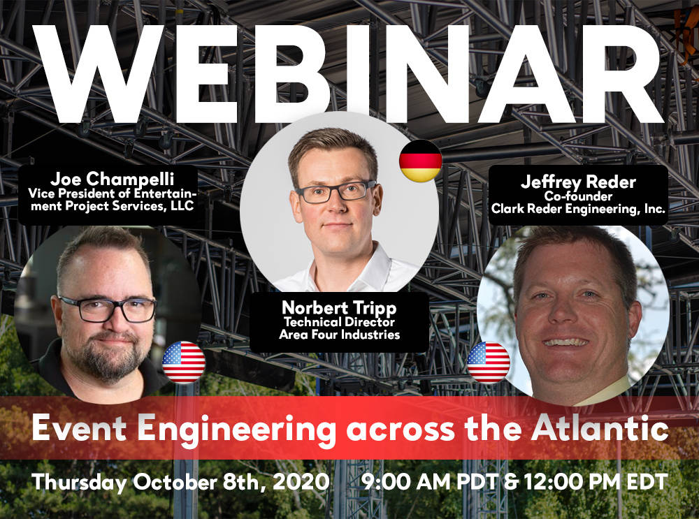Event Engineering across the Atlantic