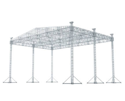 45 x 45 Ladder roof