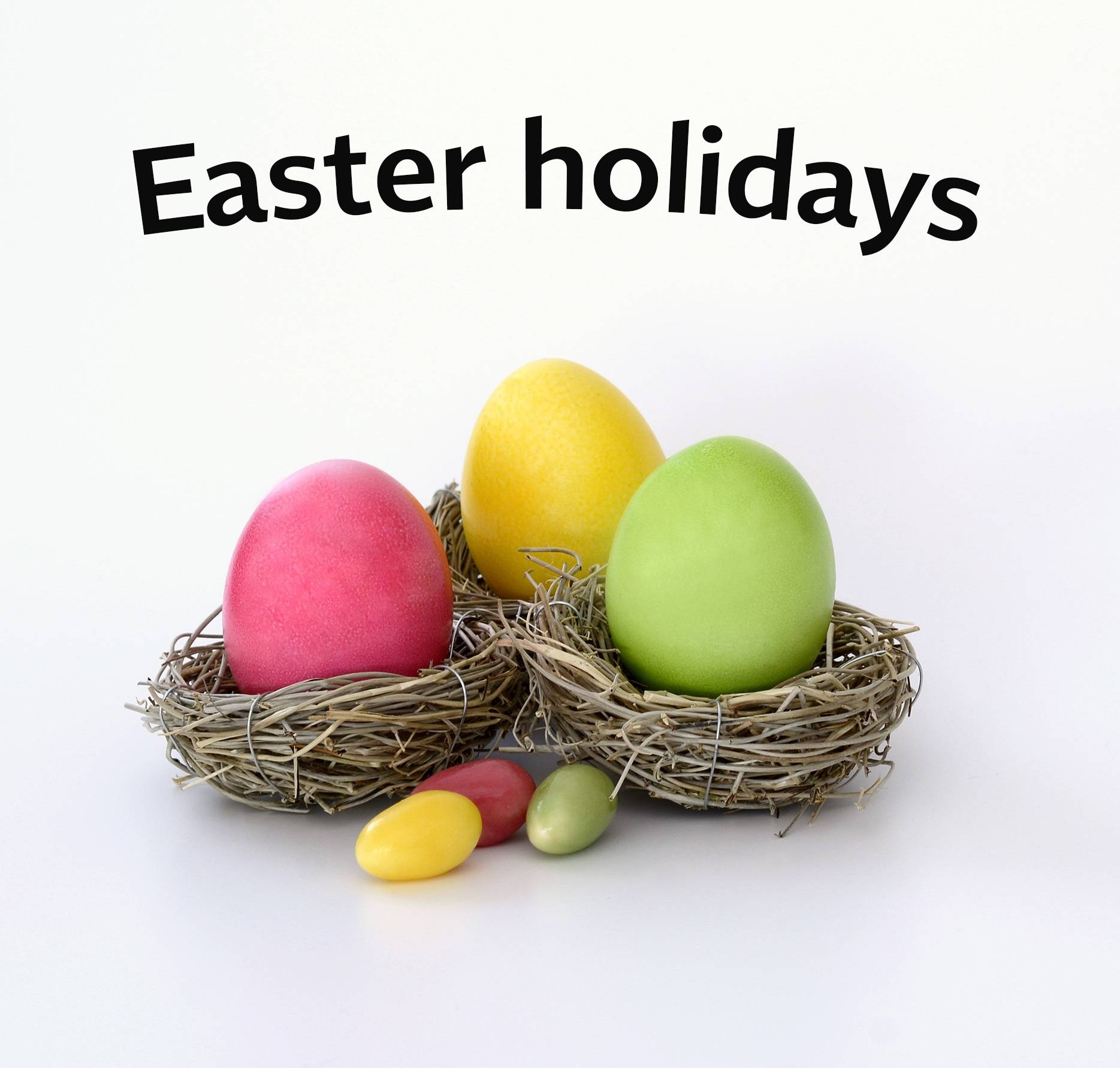 TOMCAT offices closed for the Easter holidays