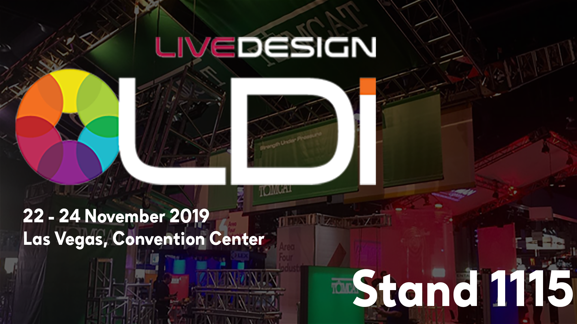 We're coming to LDI with a lot of surprises!