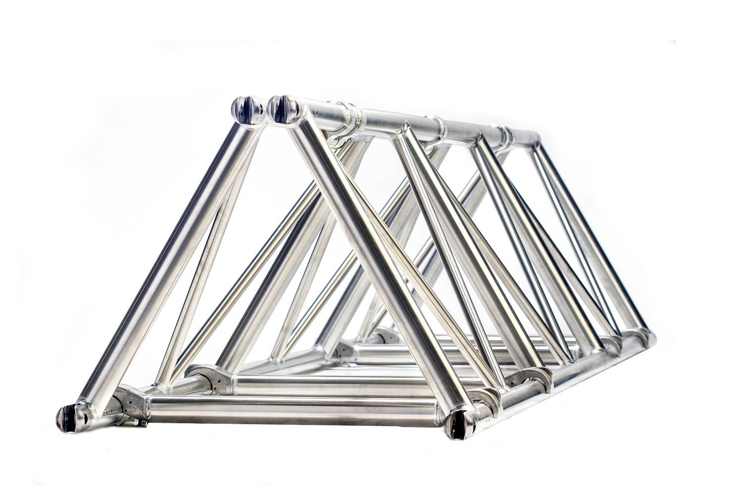 Folding triangle truss 26 spigoted