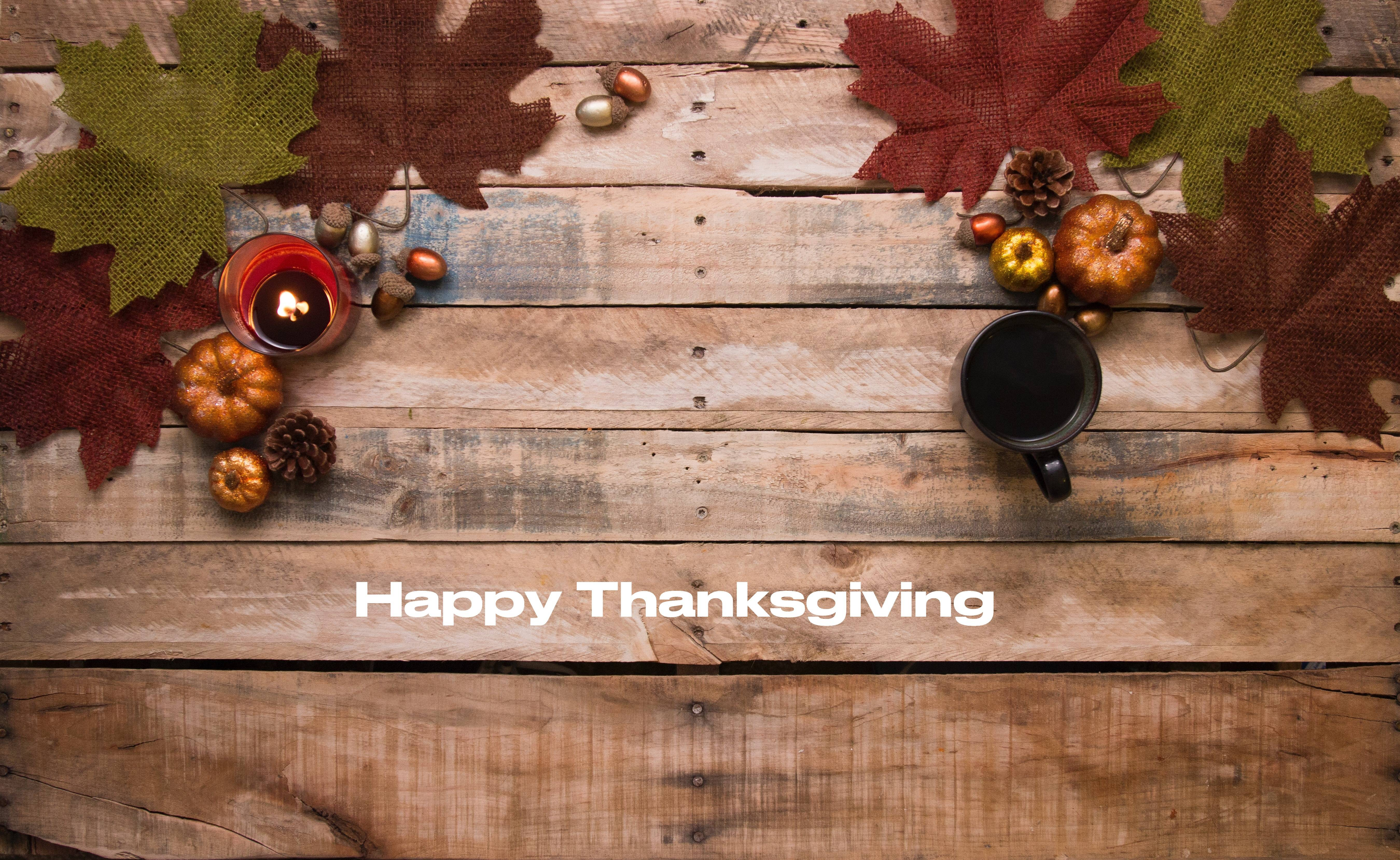 East and West offices closed for the Thanksgiving holidays