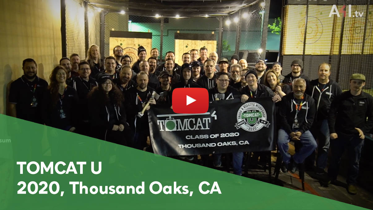 The 2020 TOMCAT U Annual Truss And Rigging Training Course, Thousand Oaks, California