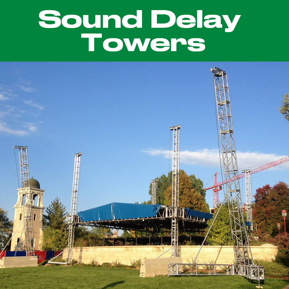 TOMCAT Sound Delay Towers
