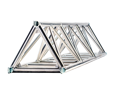 Fixed triangle truss 20.5 spigoted