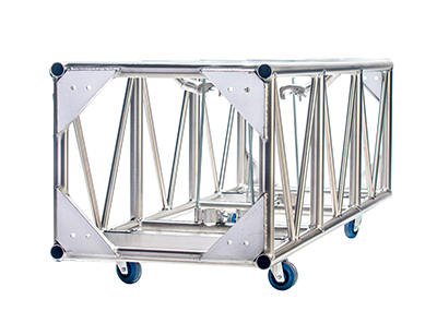 Double hung pre-rig truss 26x30 plated