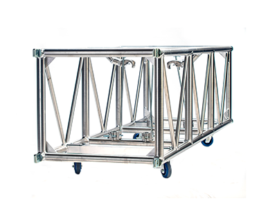 Double hung pre-rig truss 26x30 spigoted